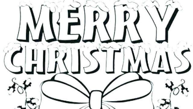 Merry Christmas Coloring Pages 2018- Free Printable Christmas Coloring Pages for Kids