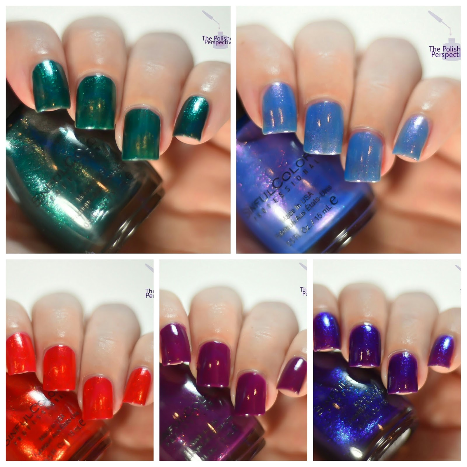 The Polished Perspective: Sinful Colors Bow-lieve In Magic Holiday ...
