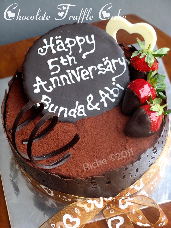 Just My Ordinary Kitchen My 5th Anniversary Cake
