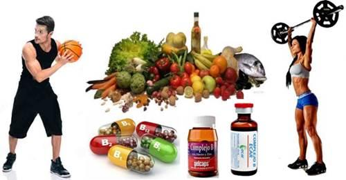 Las vitaminas del complejo ayudan a mejorar el rendimiento físico y la recuperación muscular