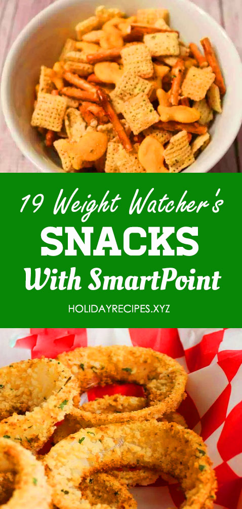 Save these most delicious and healthy 19 Weight Watchers snacks recipes with SmartPoints on Pinterest! Your weight loss can be guilt-free even with snacks! Get the best ideas of snacks - weight watchers recipes with low SmartPoints to keep you on a healthy and delicious diet! #weightwatchers #diet #smartpoints #food #recipes #healthyrecipes #healthyfood #health #delicious #chocolatechipcookies #slimmingworld #yummy