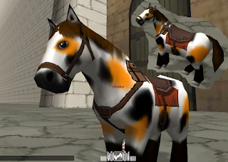 Conny Horse Skin - Attack On Titan Tribute Game