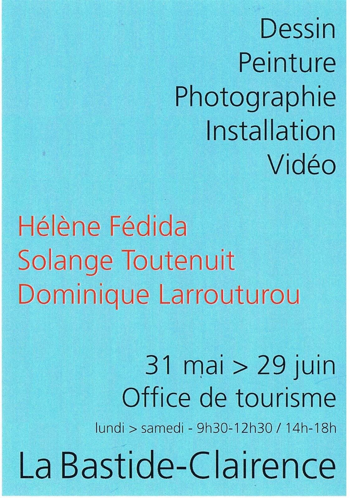Office de tourisme du pays de hasparren et de la bastide clairence exposition dessin peinture - Office de tourisme hasparren ...