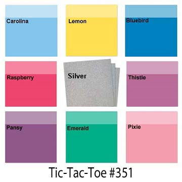 CLICK HERE for Color Dare Challenge #351 TicTacToe - CLOSES JULY 25TH
