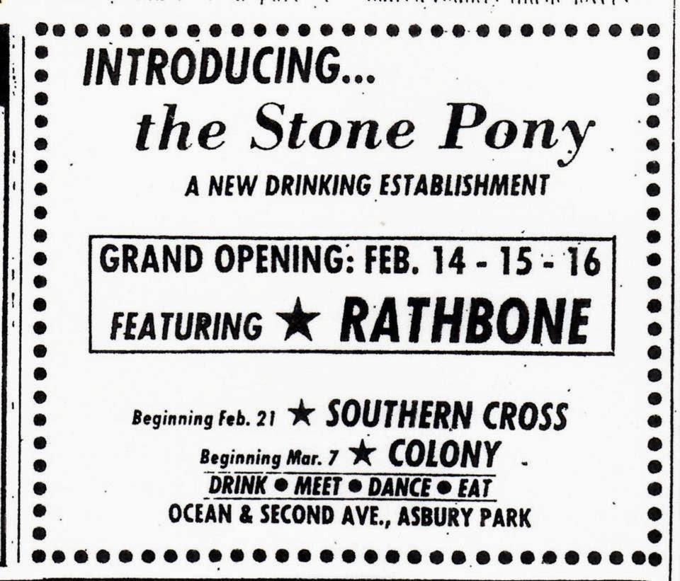 Stone Pony ad