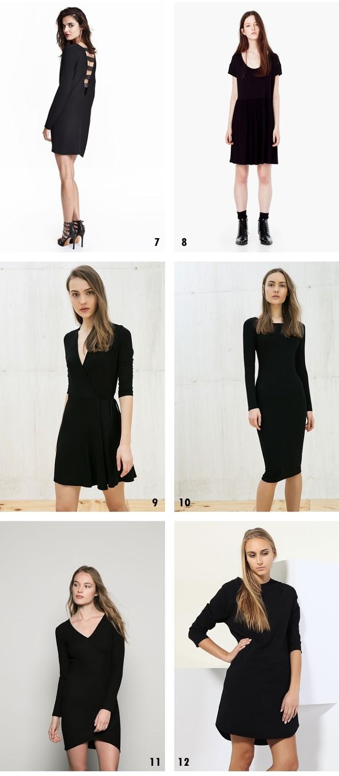 9299efcdaa 26 prostych czarnych sukienek z dobrym składem – propozycje z ...
