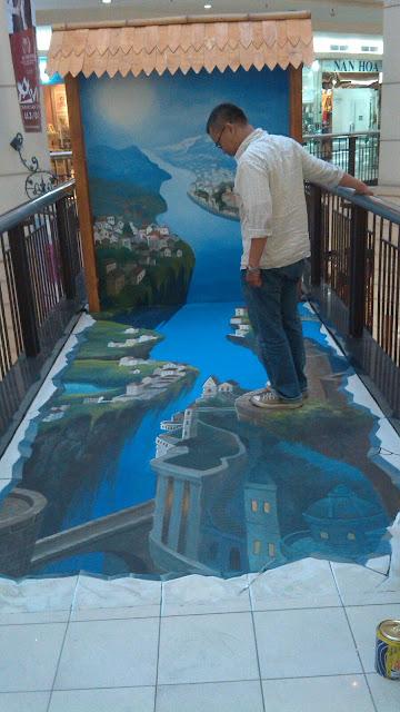 mural 3 dimensi