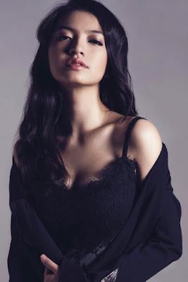bibir seksi dan indah manis Raline Shah - Pantene