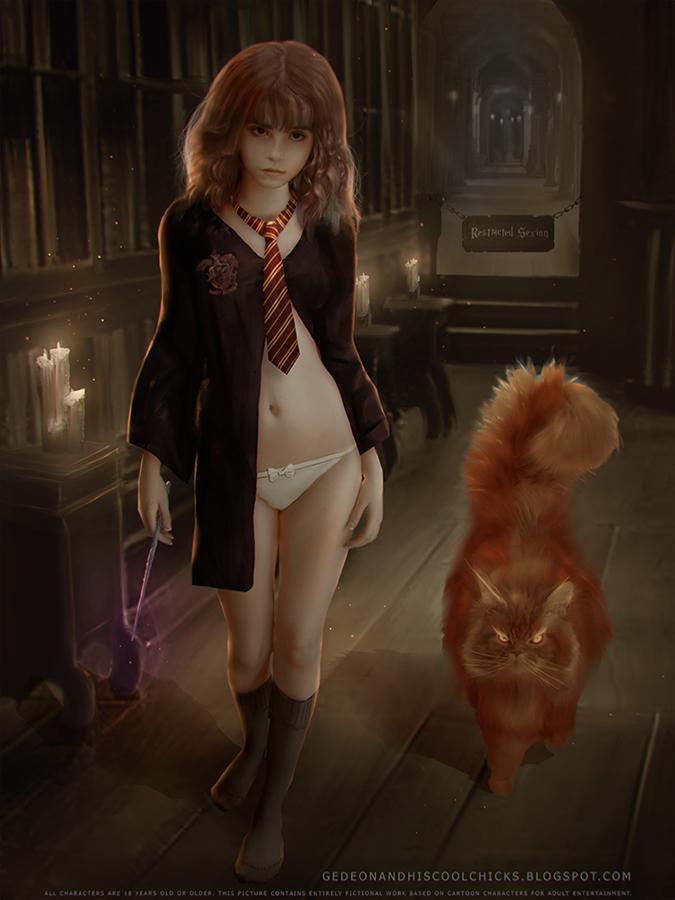 Something Harry potter hermine xxxd