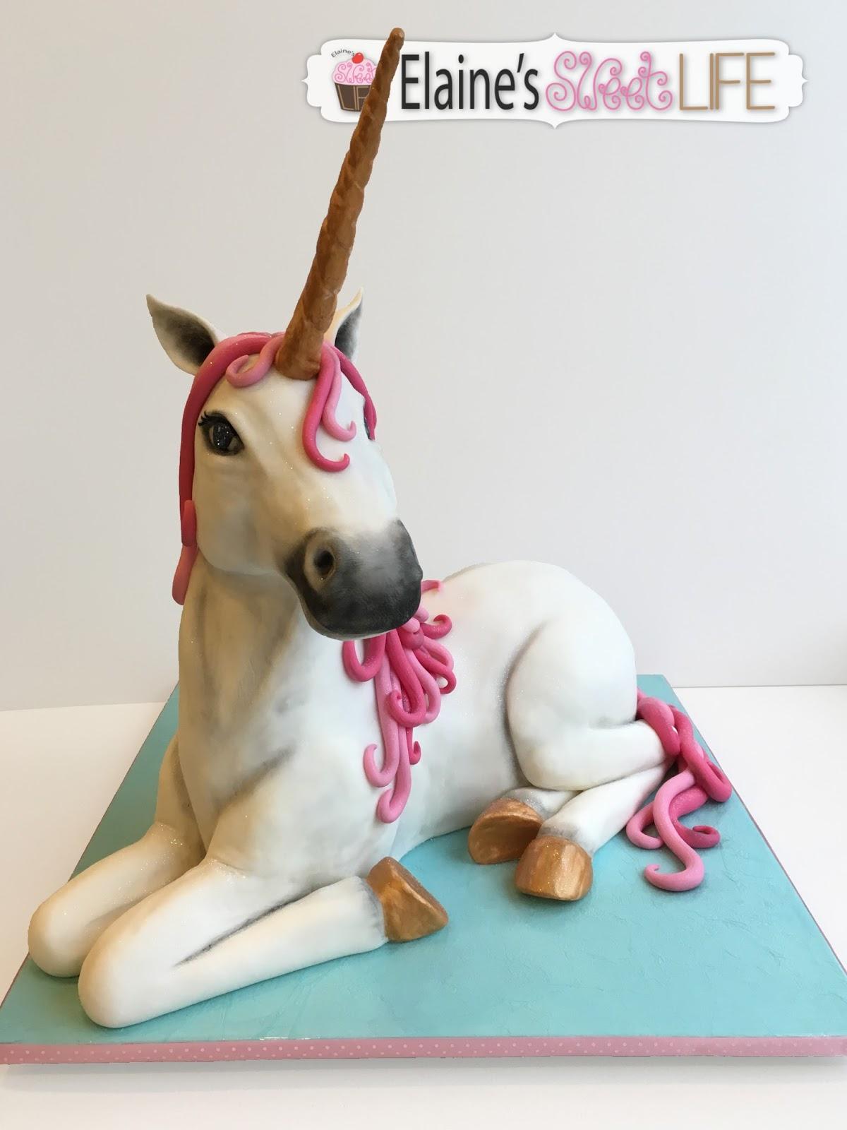 How To Do A Unicorn Cake