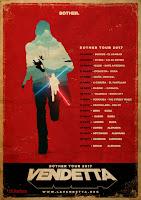 Vendetta, conciertos 2017