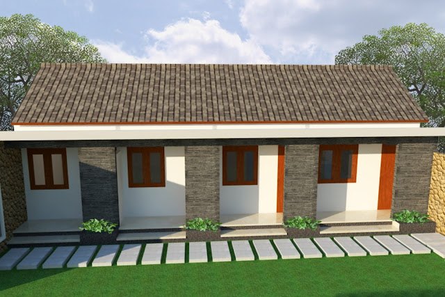 Desain Rumah Kost Minimalis Model Rumah Minimalis Sederhana