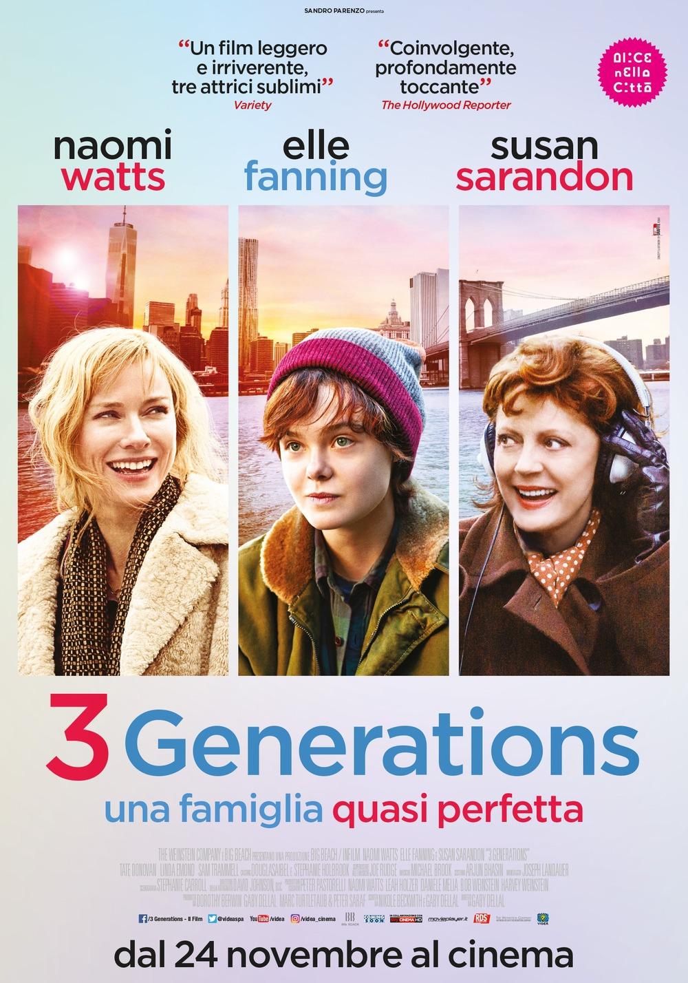 A.bout Ray (3 Generations) (2015) เรื่องของเรย์