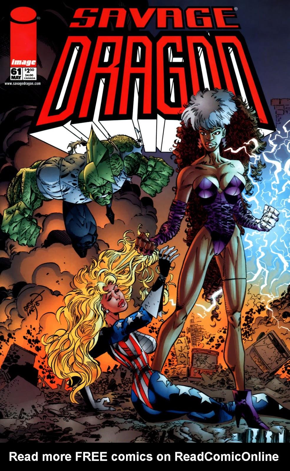 The Savage Dragon (1993) Issue #61 #64 - English 1