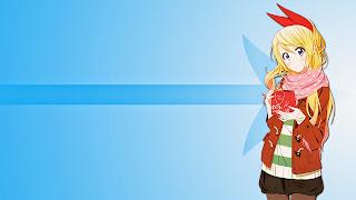 Tapeta Full HD z Chitoge Kirisaki z Nisekoi