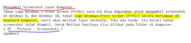 Cara menggunakan snipping tool windows 10