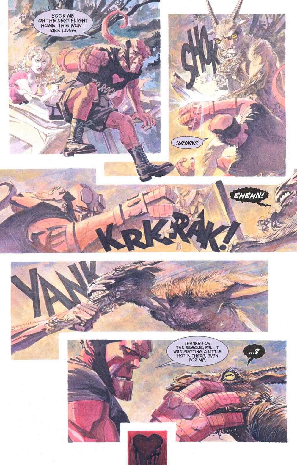 Read online Hellboy: Weird Tales comic -  Issue #5 - 9