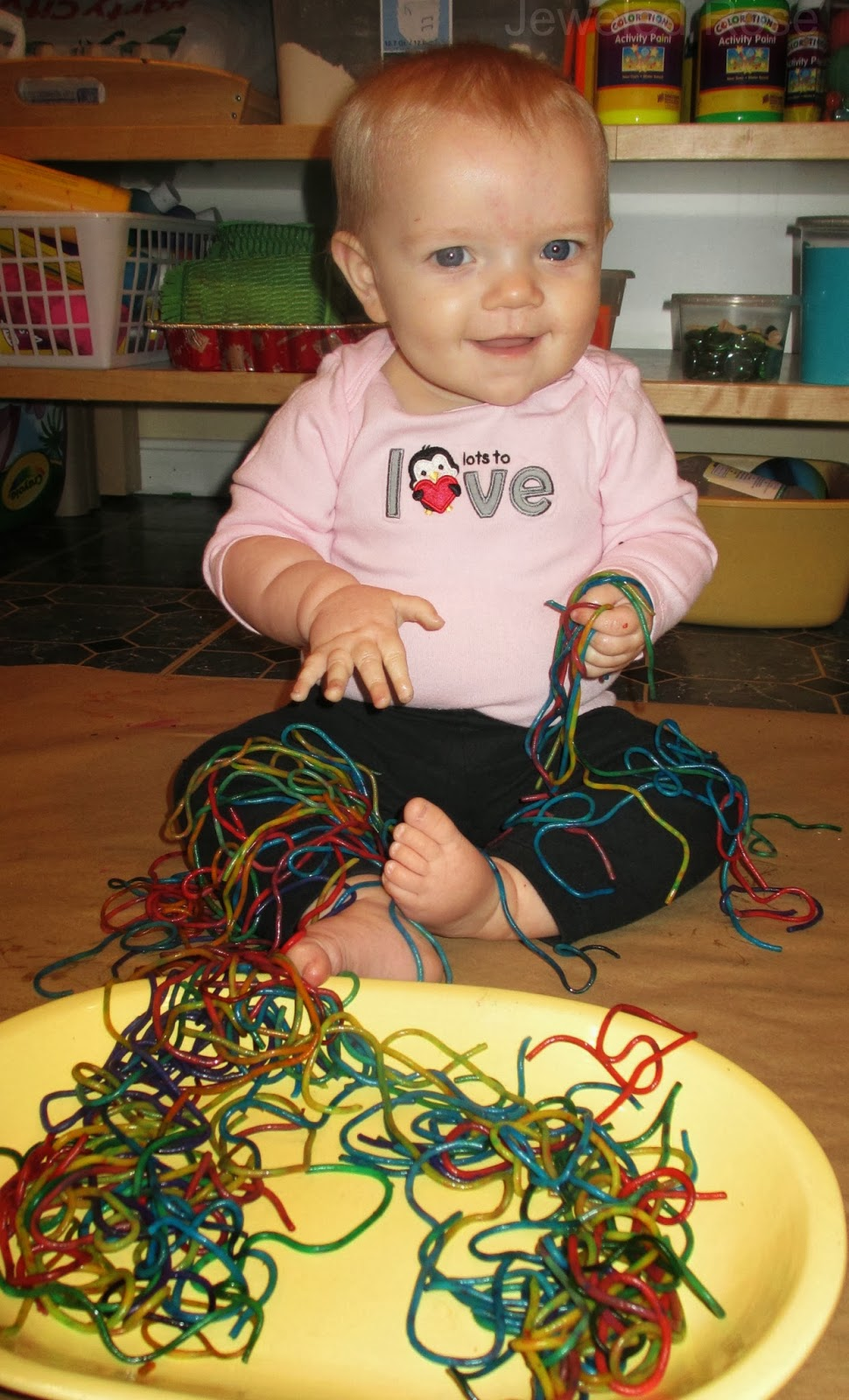 Sensory Play for Baby