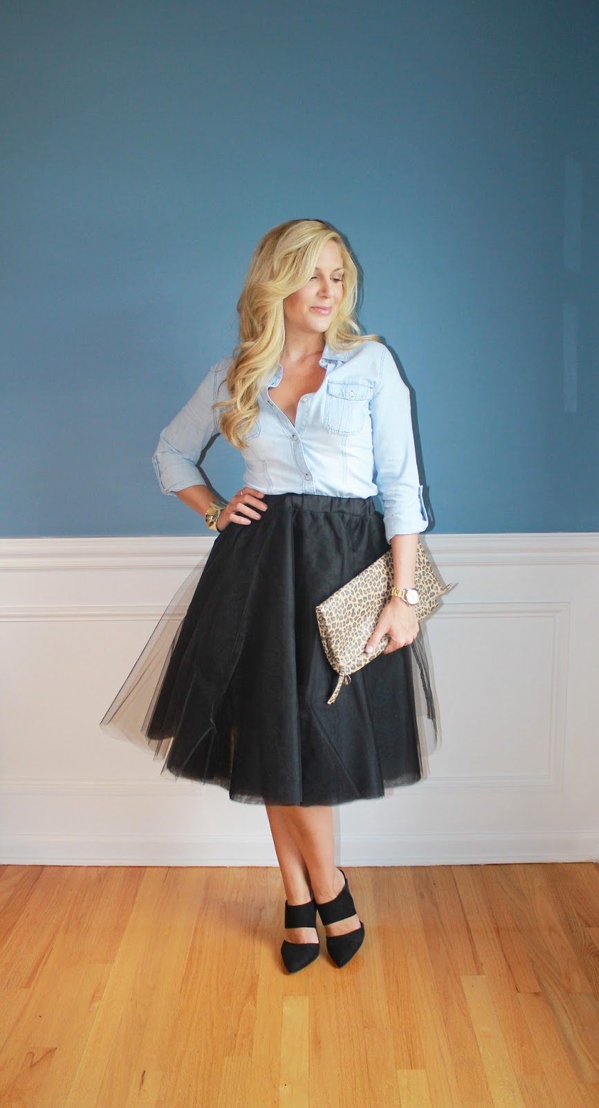 768d98858715a Outfitted411: Dressed Down Tulle...