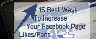 Increase Your Facebook Page Likes/Fans