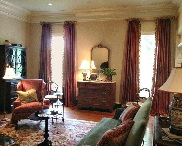 Modern Furniture: 2013 Luxury Living Room Curtains Designs