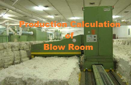 Blowroom section
