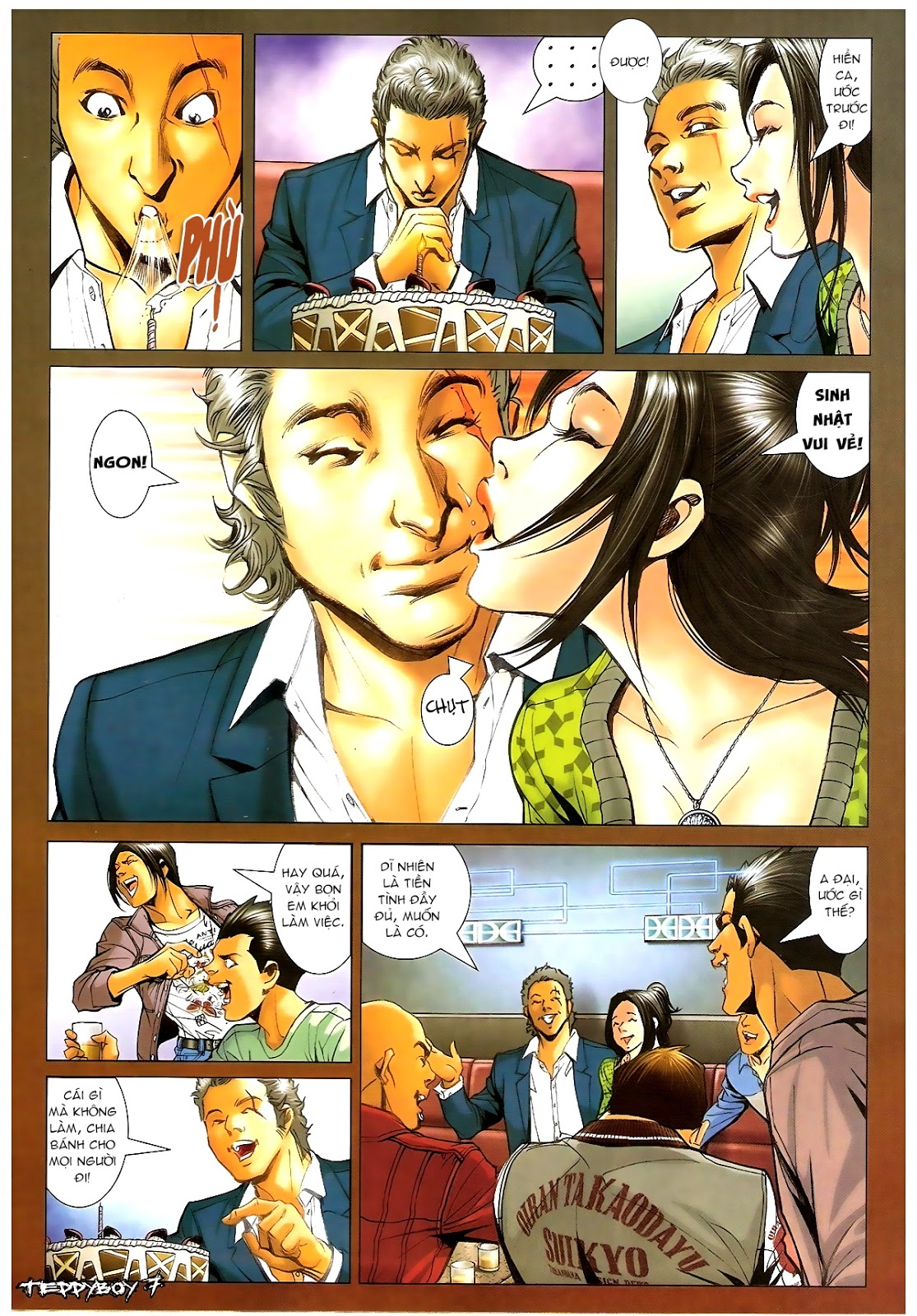 Người Trong Giang Hồ - Chapter 1379: Oan gia gặp nhau - Pic 5