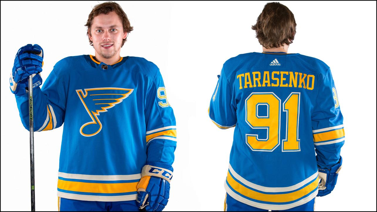 b4a15f174fe The Blues admitted that they borrowed heavily from the franchise's  inaugural jerseys from 1967-68 while incorporating some elements from their  Winter ...