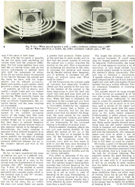 All About the Reflex Enclosure - Part 5 - P.G.A.H. Voigt
