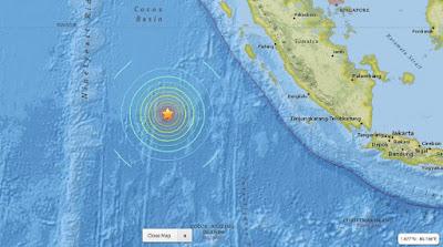 Gempa Mentawai 7,8 SR atau 8,3 SR, Berikut penjelasan Resminya