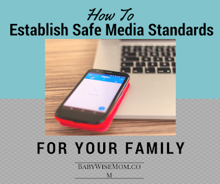 safe media standards--click to read