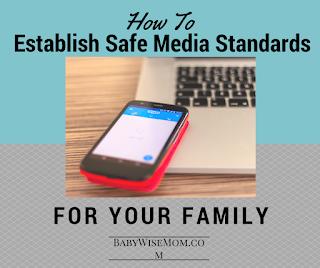 safe media standards--click to read