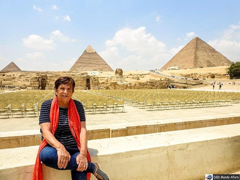 Complexo das Pirâmides de Gizé - Diário de Bordo: 2 dias no Cairo