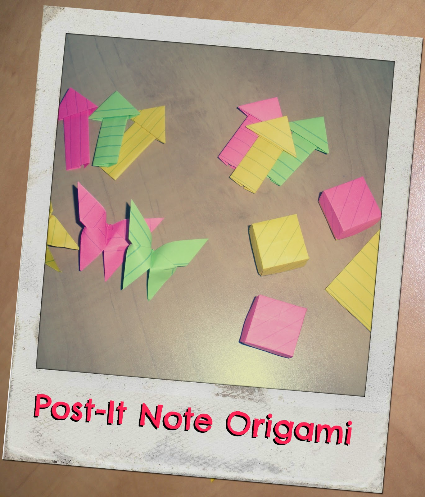How to Turn Your Old Workshop Sticky Notes into Modular Origami ... | 1600x1369