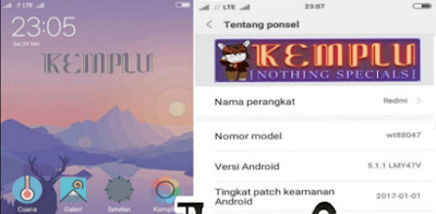 MIUI 8 Global Pro V7.5.4.5.1 Andromax A