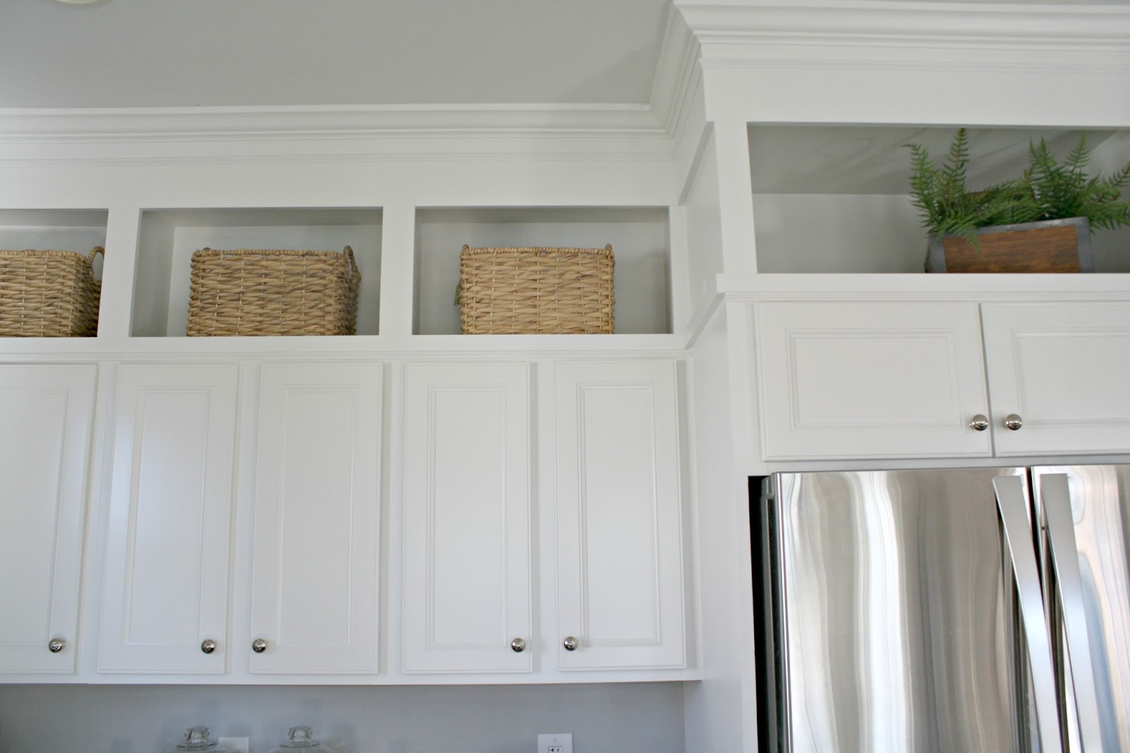 The Epic How to Paint Your Kitchen Cabinets Tutorial! from Thrifty ...