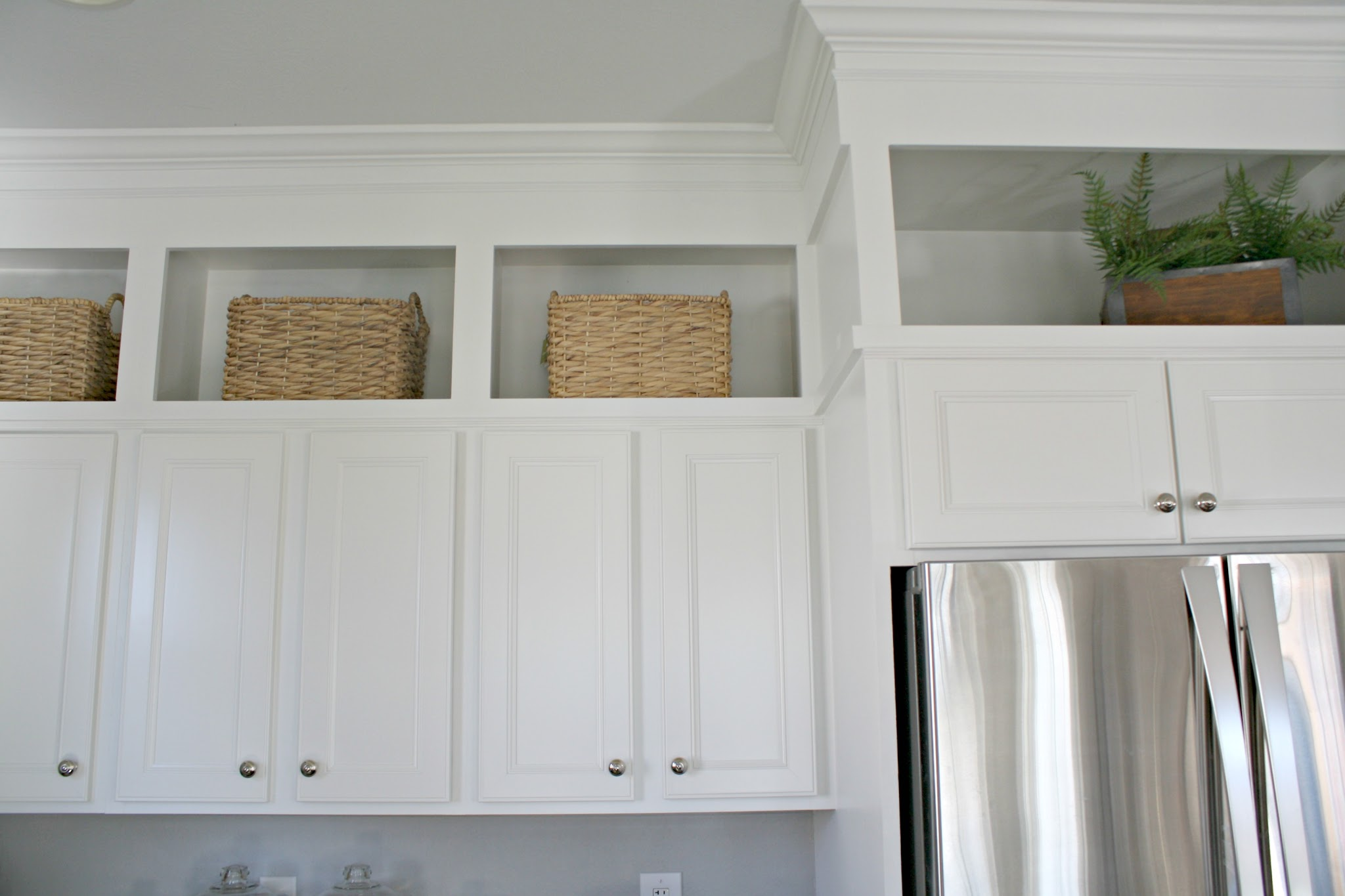 Pure white by Sherwin-Williams