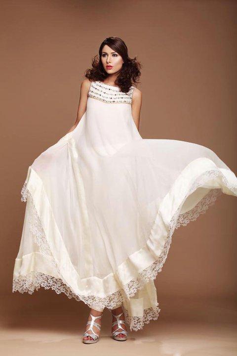 0db3a2ebb Fashion Tips Box  Chiffon Eid Dresses 2011 Collection By Kumash