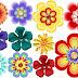 Flores del Clipart Coloreando el Mundo.