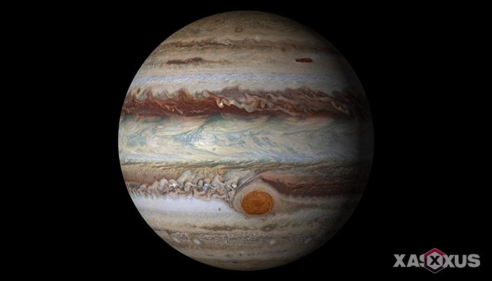 Gambar planet jupiter - urutan planet ke-5