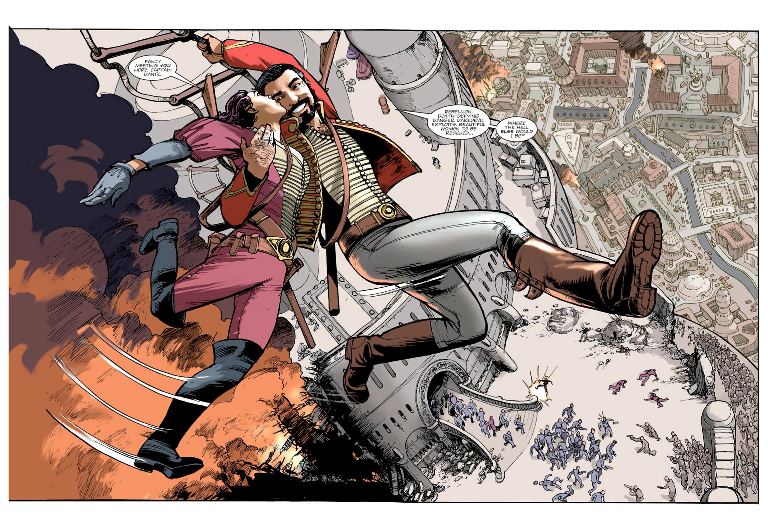 Read online Nikolai Dante comic -  Issue # TPB 9 - 123