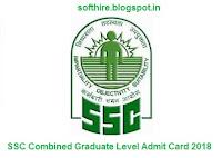 SSC Combined Graduate Level Admit Card