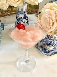 Summer Strawberry Frosé (Frozen Rosé)