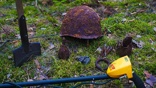 ww2 relics found metal detecting in Germany