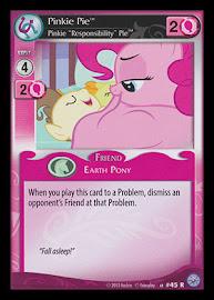 """My Little Pony Pinkie Pie, Pinkie """"Responsibility"""" Pie Premiere CCG Card"""