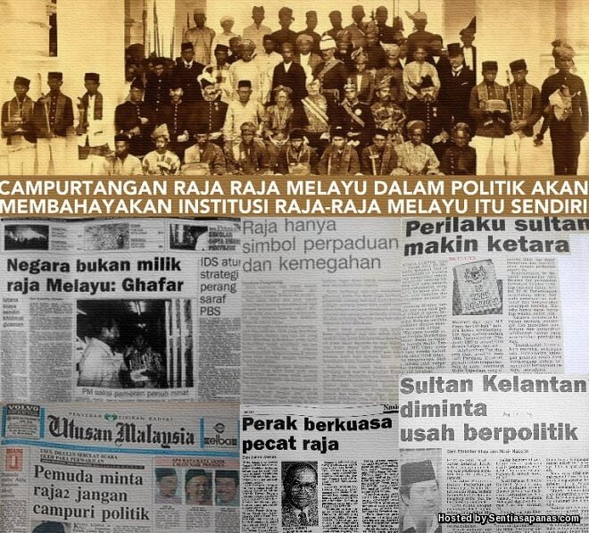 Rahsia Pindaan Kuasa Raja-raja Melayu