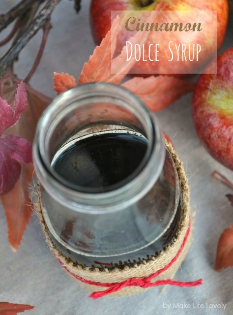 Starbucks cinnamon dolce syrup recipe.  Make your own Starbucks syrup at home for MUCH less!