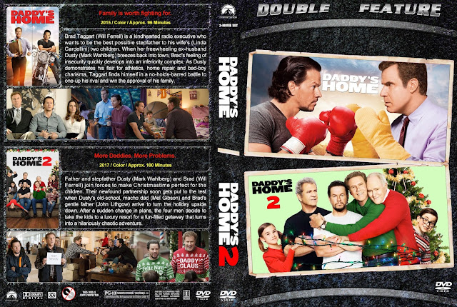 Daddy's Home Double Feature DVD Cover