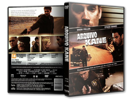 Capa DVD Arquivo Kane