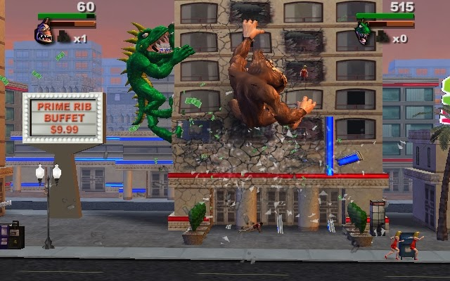Nay S Game Reviews Game Review Rampage Total Destruction